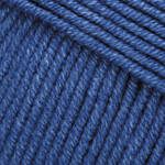 Турецкая пряжа для вязания YarnArt Jeans (Джинс) полухлопок  17 синий