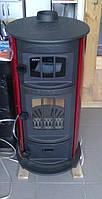 Печь-камин с духовкой Duval EK-5110 – инновационные разработки печного отопления!