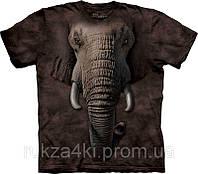 3D футболка The Mountain 103260 Elefant Face
