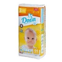 Подгузники Dada comfort fit Extra Soft 3 (4-9 кг), 64 шт