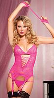 Комплект белья розовый