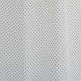 Тюль льон горошок ліловий фон молочний, фото 2