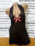 Пеньюар сексуальный черный, фото 2