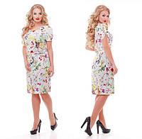 Женское Летнее платье Венера цветы