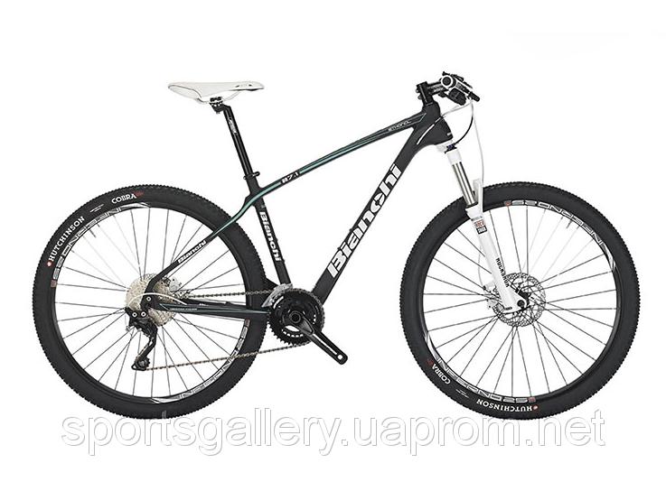 Велосипед горный Bianchi ETHANOL 27.1 XT/DEORE carbon Disc