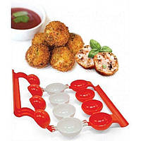Форма для приготовления тефтелей и фрикаделек с начинкой Аппетитная тефтелька Stuffed Ball Maker