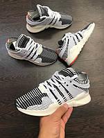 Кроссовки Adidas EQT Primeknit Zebra унисекс (женские,мужские,детские)