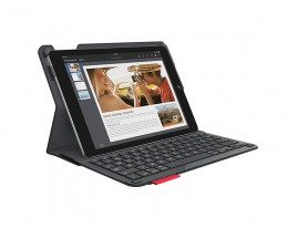 Чехол-клавиатура Logitech Type+ Protective Case with Keyboard Woven Black для iPad Air 2