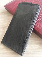 Чорний чохол-фліп на магнітній застібці для Iphone 5/5S, фото 1