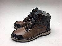 Мужские ботинки Timberland черно-карамельный