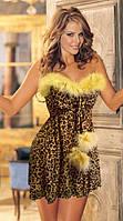 Женский костюм леопарда
