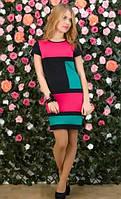 Платье три цвета Д-307