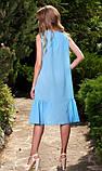 Платье голубого цвета, фото 2