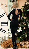 Черное платье на праздник