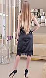 Атласное романтическое платье, фото 2