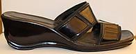 Летние женские сабо черные кожа, кожаная летняя обувь от производителя модель ВЛ69Р-2