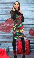 Платье теплое на сезон осень-зима