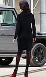 Черное зимнее платье, фото 2