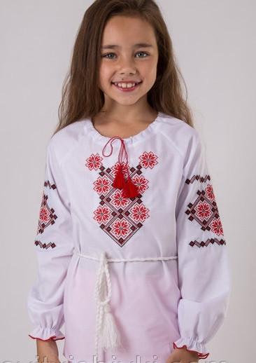 Детская вышитая блуза Орнамент