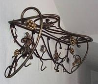 Кованая вешалка для одежды