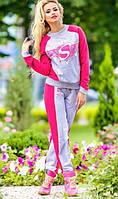Спортивный костюм розового цвета