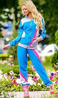 Спортивный костюм голубого цвета