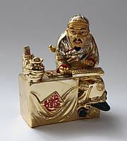 Хозяин денег  12 см (золотой)