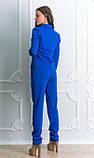 Брючный костюм синего цвета, фото 2