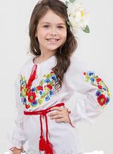 Детская оригинальная вышитая блуза