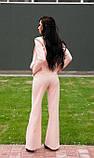 Стильный костюм персикового цвета, фото 2
