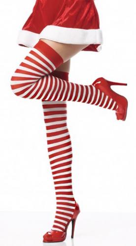 Полосатые чулки - KORSETOV - Магазин женской одежды и белья (ua-moda.com.ua) в Днепре