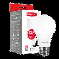 Светодиодная лампа А65 Е27 12W MAXUS 3000К/4000К