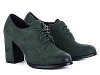 Женская осенняя обувь. Туфли на каблуке оптом от производителя Башили B15 (6пар 35-40)