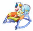 Детская шезлонг - качалка 7179. Вибрация, дуга с игрушками,, фото 7