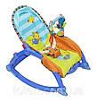 Детская шезлонг - качалка 7179. Вибрация, дуга с игрушками,, фото 8