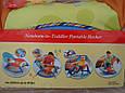 Детская шезлонг - качалка 7179. Вибрация, дуга с игрушками,, фото 9