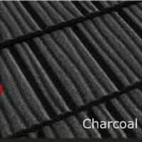 Композитная черепица Roser Stone Wood Shake Charcoal