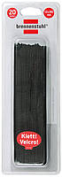 Стяжка липучка 125 мм; черная, фото 1