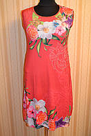 Платье без рукава 3533 корал, фото 1