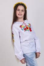 Оригинальная вышитая блуза детская