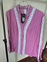 Блузка 711 фиолет