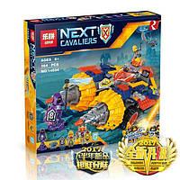 Конструктор Lepin серия Next Cavaliers 14034 Бур-машина Акселя (Аналог Lego Nexo Knights 70354)