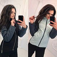 Женская куртка из ткани Аляска, влагостойкая, на синтепоне 150, разные расцветки, стандартные размеры