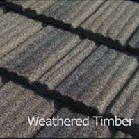 Композитная черепица Roser Stone Wood Shake Weathered Timber