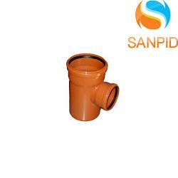 Трійник для зовнішньої каналізації Wavin 160х110/90°