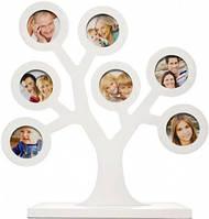 Рамочка для фото Мое семейное дерево, белый PearHead