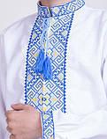 Вышитая рубашка крестиком Филип , фото 2