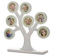 Рамочка для фото Мое семейное дерево, серый PearHead