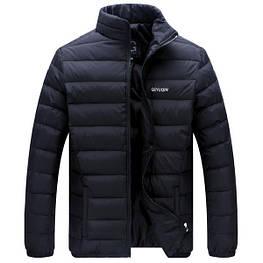 Мужской зимний пуховик куртка. Модель 7001