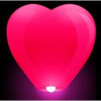 Небесные фонарики сердце, китайские фонарики сердце, воздушные фонарики сердце